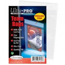 UltraPRO: obal na karty 13x9 cm – Team Bags (100ks)