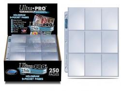 UltraPRO: stránkové obaly na 9 karet